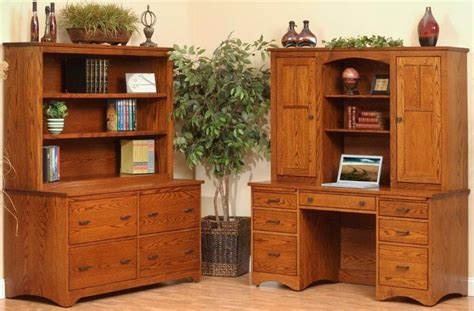 Prairie Mission Pencil Desk With Hutch Top From Dutchcrafters