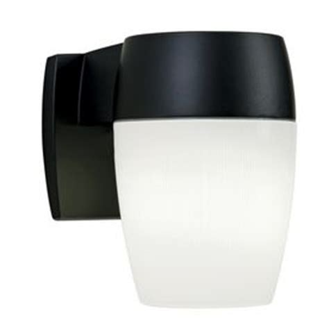 utilitech security light utilitech 26 watt black fluorescent dusk to security