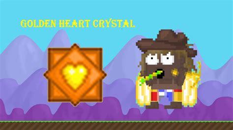 Growtopia L I Got Golden Heart Crystal !