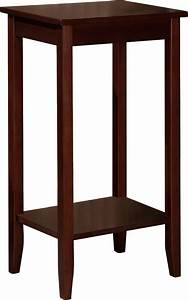 Rosewood, Coffee, Brown, Tall, End, Tables, -, Value, Bundle