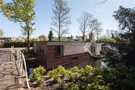 Woonboot Te Koop Kanaalweg Utrecht by Park Ark Woonboot Richel Lubbers Architecten