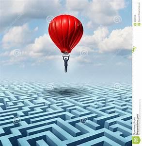 Rise Above Adversity Stock Illustration  Illustration Of