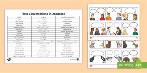 new first conversations in japanese introductions
