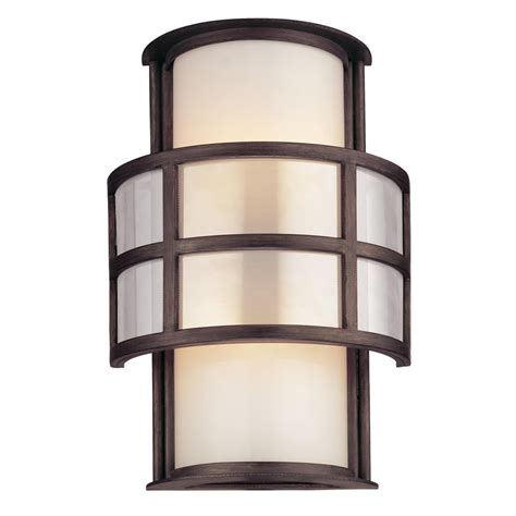 buy the discus exterior 2 light wall sconce small