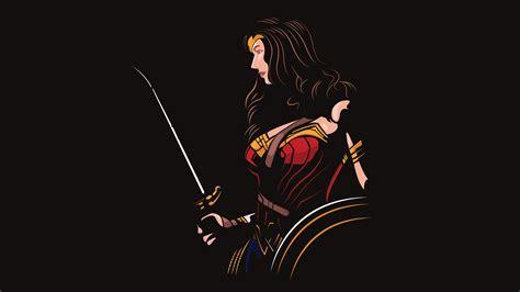 wallpaper  woman justice league dc comics minimal