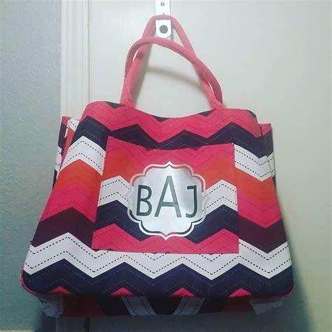 bright fun beach bag   personalized monogram  wouldnt   carry  bag