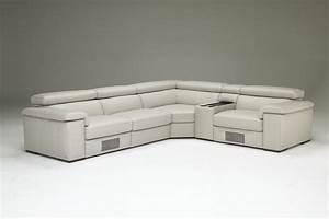 Natuzzi Editions B620 Sectional Modern Leather