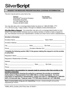 aetna coventry prior auth form does silverscript cover shingles vaccine medicare part d