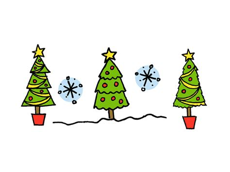 how to draw christmas tree how to draw a tree 4 tutorials
