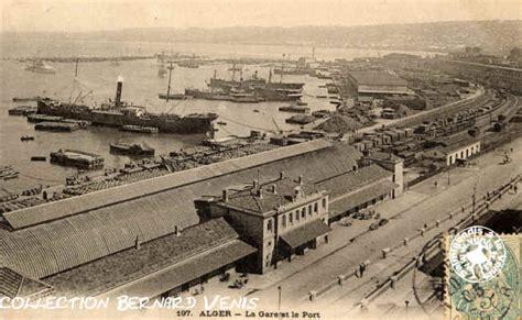 7 port de la gare alger la gare principale sur le quai du port les chemins de fer alger roi net