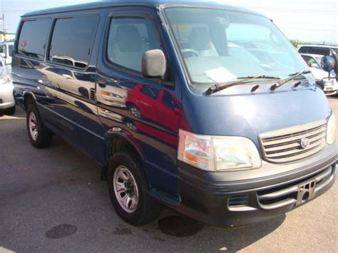 Used 2000 Toyota Hiace Photos
