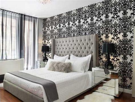 tapeten design ideen schlafzimmer schlafzimmer tapezieren muster