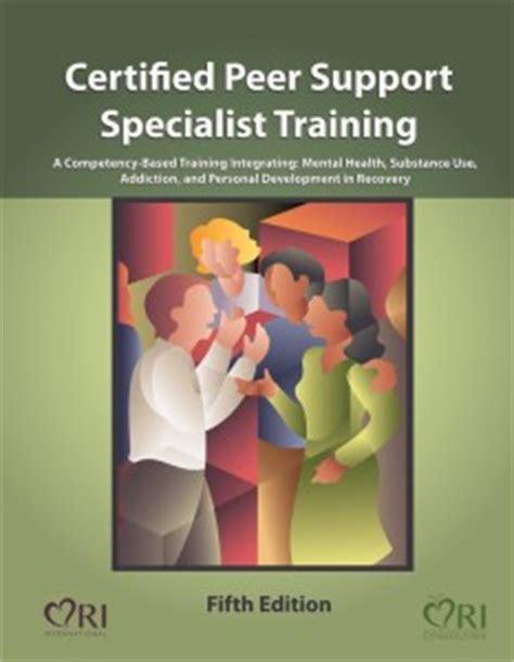 Certified Peer Support Specialist Training  Ri International