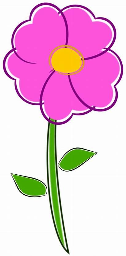 Flor Flower Clipart Clip Pdf Domain Publicdomainfiles