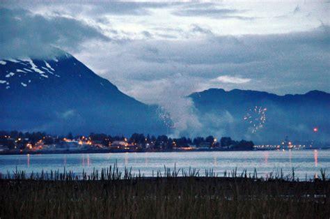 july fireworks shows  alaska