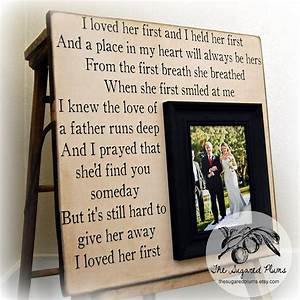 Wedding gift for parents mother of the bride by for Wedding gifts for dad