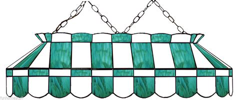 stained glass pool table light fixture teal white 40 quot stained glass pool table light fixture
