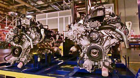 nissan powertrain assembly plant titan  engine youtube