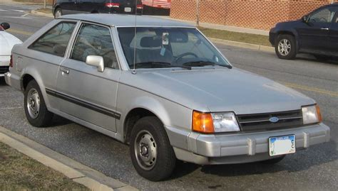 File:85-87 Ford Escort hatch.jpg - Wikimedia Commons