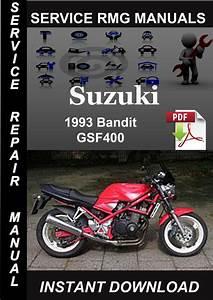 1993 Suzuki Bandit Gsf400 Service Repair Manual Download