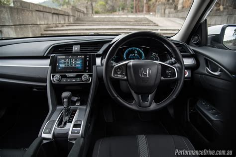 honda civic interior 2016 honda civic vti s sedan review performancedrive