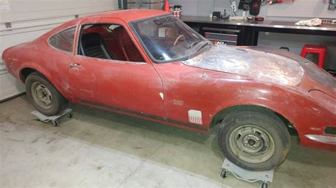 Opel Gt For Sale Craigslist by Mini Project 1970 Opel Gt