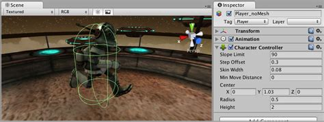 unity manual character controller