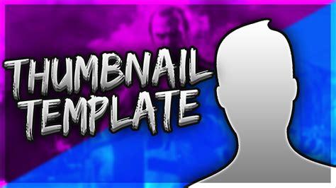 Thumbnail Template Free Gaming Thumbnail Template 2016 Psd Direct