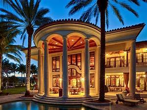 Fort Lauderdale Mediterranean Style Estate With Beautiful ...