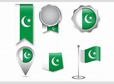 Pakistan Flag Icon Set Download Free Vector Art, Stock