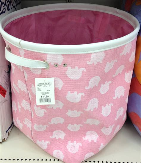 pink laundry basket placement  laundry ideas