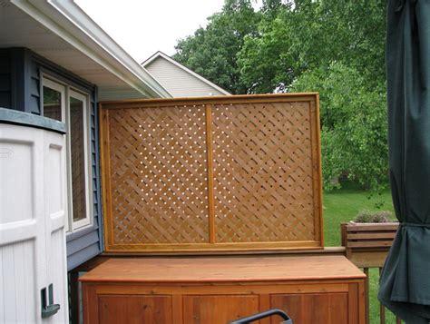 deck railing privacy screen home design ideas