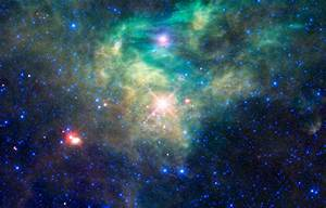 Space Images | WISE Reveals a Hidden Star Cluster