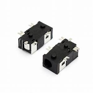 10pcs 2 5mm X 0 7mm Dc Jack Dc Power Socket Male Center