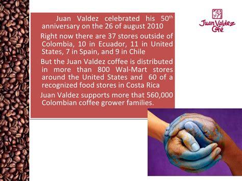 Juan Valdez Velcarzo Agency-grupo2 Best Instant White Coffee Singapore To Buy In Supermarket Chemex Bitter For One Italian Maker Called Bialetti Leaking Video Steps
