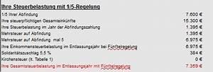 Abfindung Steuern Berechnen : abfindung bei steuerfreiem einkommen ~ Themetempest.com Abrechnung