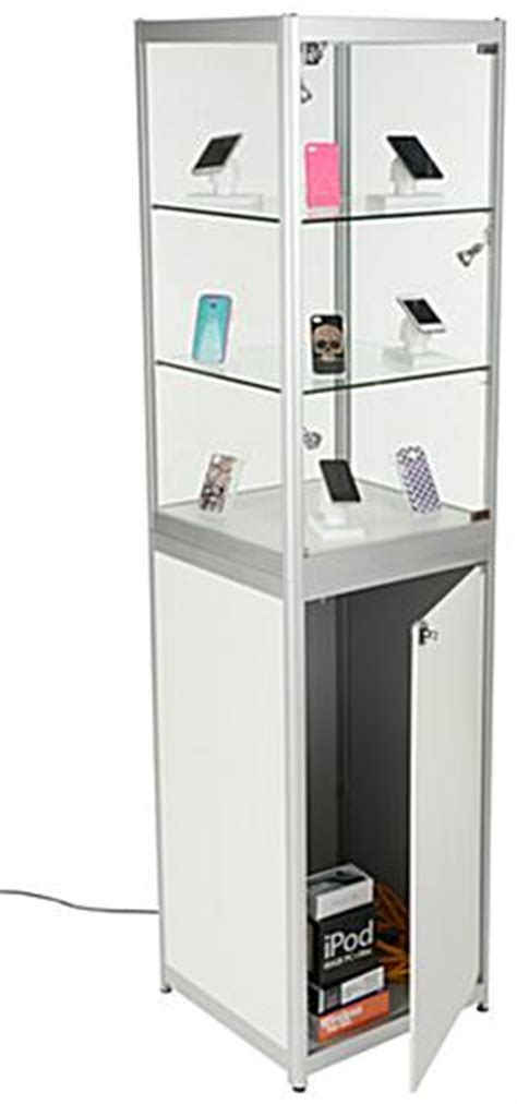 trade show storage cabinets trade show display tower secure exhibit space locking