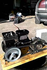 Engine Alternator Running Part-3 Diy 12v 12 Volt Dc Generator Charger