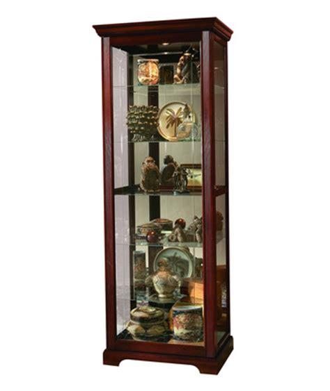 Pulaski Furniture Cherry Curio Cabinet by Curio Cabinet In Cherry By Pulaski Home