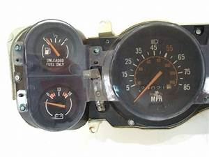 1980 Camaro Dash Instrument Cluster Housing Assembly With