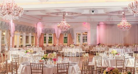 Blue And Pink New Jersey Wedding At Eagle Oaks Golf And