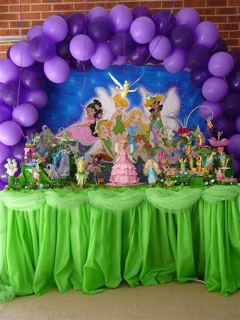 tinkerbell balloons decorations favors ideas
