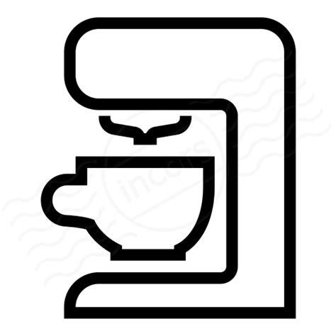 IconExperience » I Collection » Coffee Machine Icon