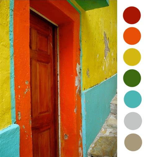 mexican colors mud projet color theory mexican rainbow