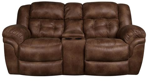 rocker recliner loveseat with console furniture reclining loveseat with center console