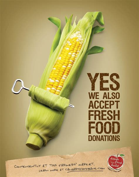 creation cuisine creative food advertising foodbank posters 22x28 c jpg