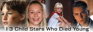 13 Child Stars Who Died Young « Celebrity Gossip and Movie ...
