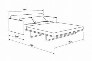 lit une personne taille With dimension canapé lit
