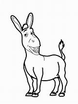 Coloring Pages Shrek Donkey Printable Drawing Tail Funny Animal Print Cartoon Bestcoloringpagesforkids Baby Printables Letter Fun Getdrawings Read Printablee sketch template