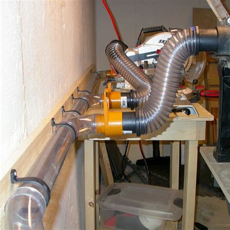 clear ducting  dust collection system brilliant